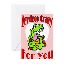 Alligator Valentine Greeting Cards (Pk of 20)