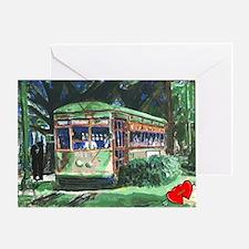 Streetcar Valentine Greeting Card