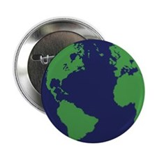 "Earth Sweet Earth 2.25"" Button"
