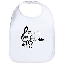 Double Treble Bib