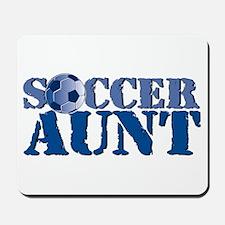 Soccer Aunt Mousepad