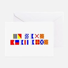 Beat Army in Flags Greeting Cards (Pk of 10)