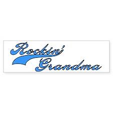 Rockin' Grandma Bumper Bumper Sticker