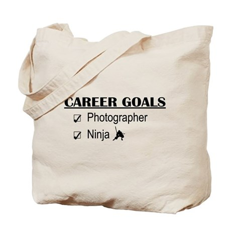 Photographer Career Goals Tote Bag