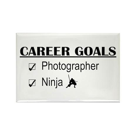 Photographer Career Goals Rectangle Magnet