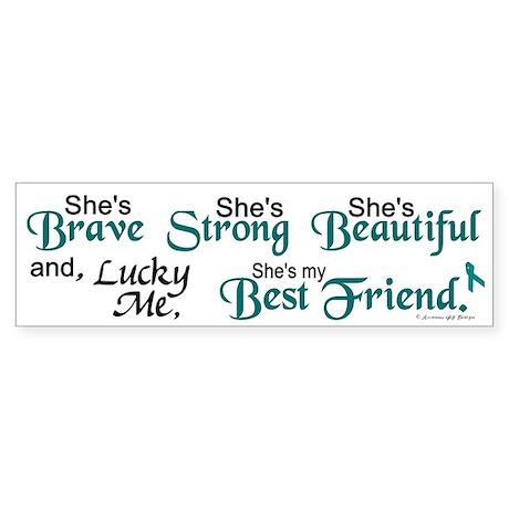 Lucky Me 1 (Best Friend OC) Bumper Sticker