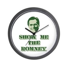 Show Me the Romney Wall Clock