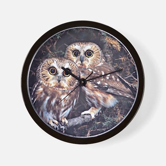Unique Owl Wall Clock