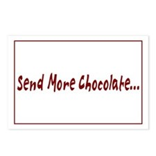 Send More Chocolate Postcards (Package of 8)