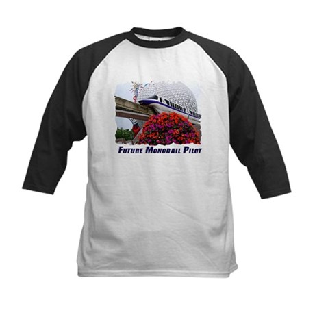 Disney Monorail t-shirts Kids Baseball Jersey