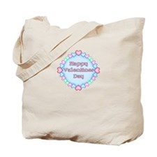 Happy Valentine's Day Candy H Tote Bag
