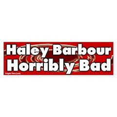 Haley Barbour Bumper Bumper Sticker