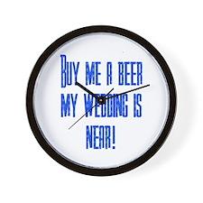 Buy Me A Beer Wall Clock