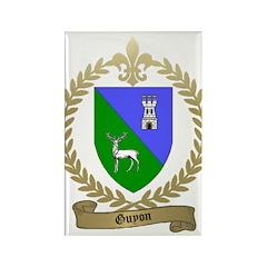 GUYON Family Crest Rectangle Magnet (10 pack)