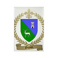 GUYON Family Crest Rectangle Magnet (10 pack)
