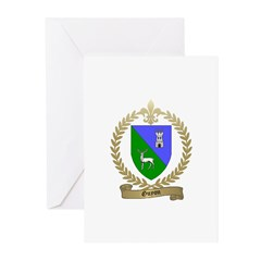 GUYON Family Crest Greeting Cards (Pk of 10)