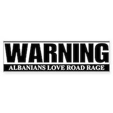 Albanian Bumper Bumper Sticker