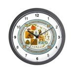 Masons Symbols Wall Clock