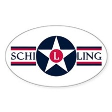 Schilling Air Force Base Oval Decal