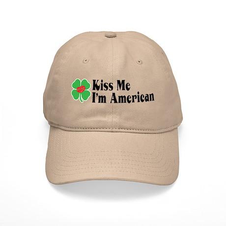 Kiss Me I'm American Cap