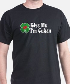 Kiss Me I'm Cuban T-Shirt