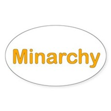 Minarchy Oval Decal