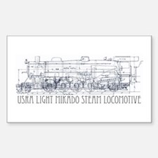 TRAIN Rectangle Decal