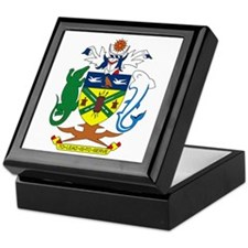 Solomon Islands Coat of Arms Keepsake Box