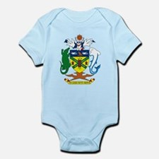 Solomon Islands Coat of Arms Infant Creeper