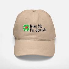Kiss Me I'm Jewish Baseball Baseball Cap