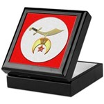 Shrine Red Keepsake Box