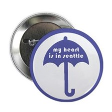 "Umbrella Days 2.25"" Button"