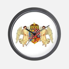 Hungary Coat of Arms (19th Ce Wall Clock