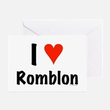 I love Romblon Greeting Card