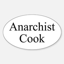 Anarchist Cook Decal