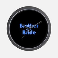 Brother Of The Bride - Retro Wall Clock