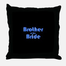 Brother Of The Bride - Retro Throw Pillow