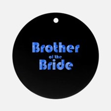 Brother Of The Bride - Retro Ornament (Round)