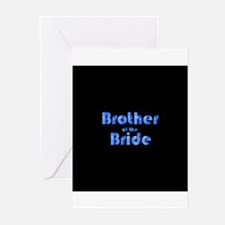 Brother Of The Bride - Retro Greeting Cards (Pk o