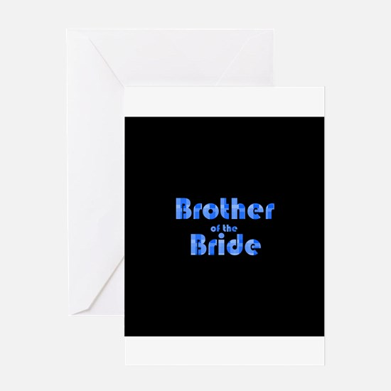 Brother Of The Bride - Retro Greeting Card