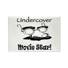 Undercover Movie Star Rectangle Magnet (10 pack)