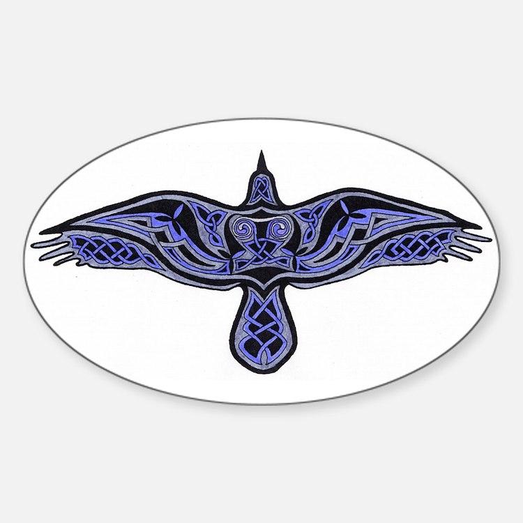 Celtic Raven Decal