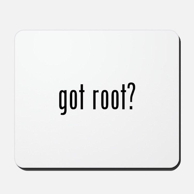 got root? Mousepad