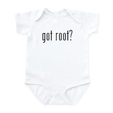 got root? Infant Bodysuit