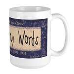 These is my Words Large Mug