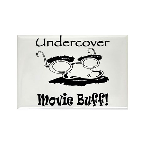 Undercover Movie Buff Rectangle Magnet (10 pack)