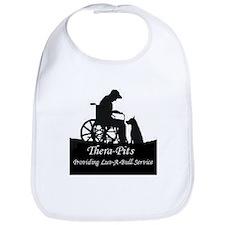 Thera-Pits Wheelchair and APBT image on a Bib