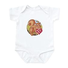 Skippy's 'I'M NUTS 4 U' Infant Bodysuit