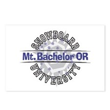 Snowboard Mt. Bachelor OR Postcards (Package of 8)