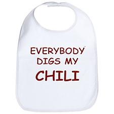 Everybody Digs My CHILI Bib